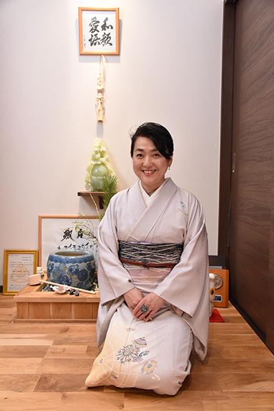 日本人の民族衣装は、きものです。